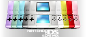 Nintendo DS icons pack by Horalion