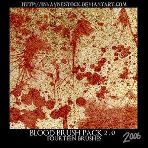 Blood Brush Pack 2 0 by invaynestock