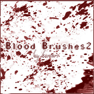 Blood Brushes 2 by KeReN R