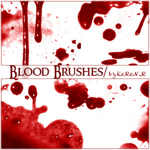 Blood Brushes by KeReN R