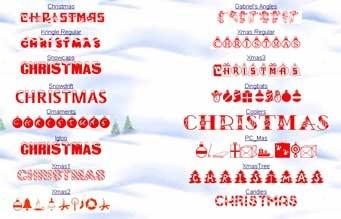 christmasfonts