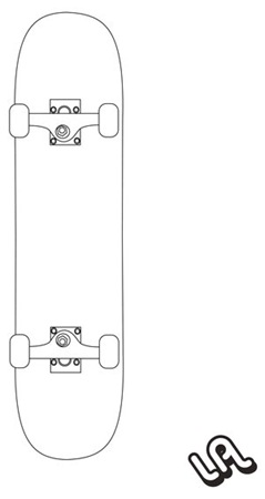 SKATEBOARD_vector_by_luther1000