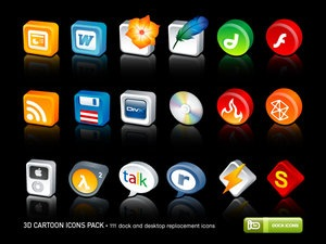 3D_Cartoon_Icons_Pack_by_deleket