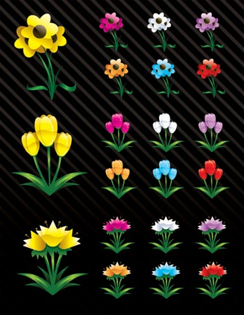free-vector-art-flowers