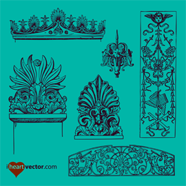 iheartvector-free-ornaments-pack