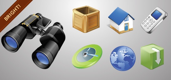 bright_vector_icons_set