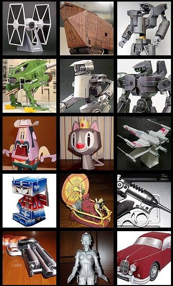 100_free_papermodels