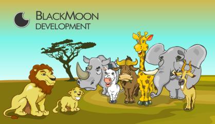 african_animals_vector