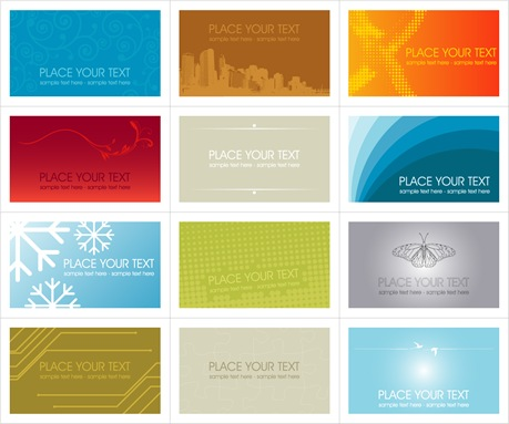 12-free-vector-business-cards