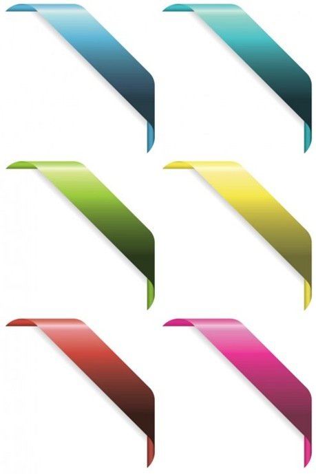 vector-corner-ribbons-cs-by-dragonart