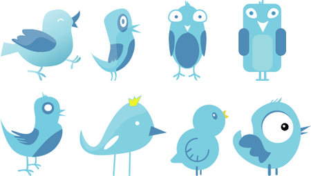 exclusive-twitter-birds-set