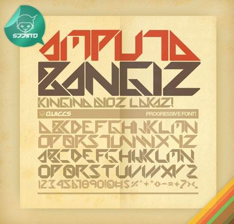 Amputa_Bangiz_Standard_TTF_by_Quiccs