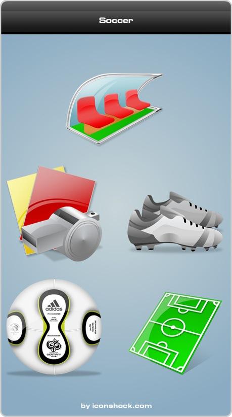 Soccericonshock