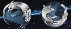 Firefox Thunderbird Vanablue by 1bumpy