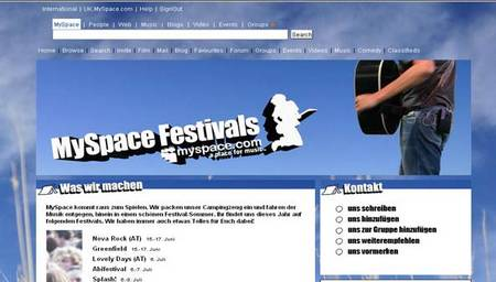 myspacefestivals