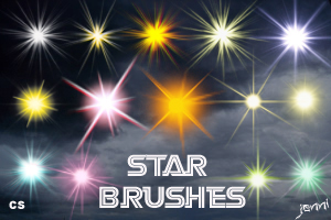 Star Brushes by jen ni