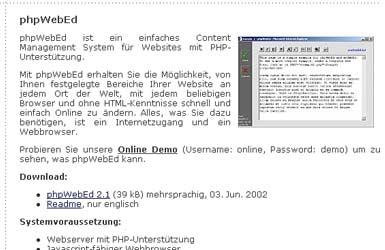 phpwebed