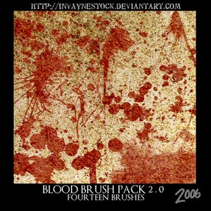 Blood Brush Pack 2 0 by invaynestock