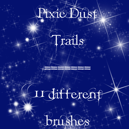 Pixie Dust Trails brushes by rL Brushes