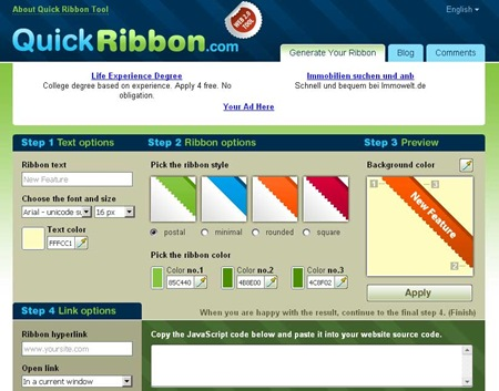 quickribbon