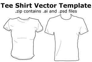 Tee_Shirt_Vector_Template_by_madnessism