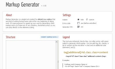 markup_generator
