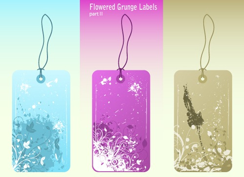 Flowered_Grunge_Labels_P2_PUB
