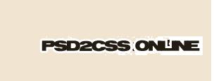 psd2cssonlinegenerator