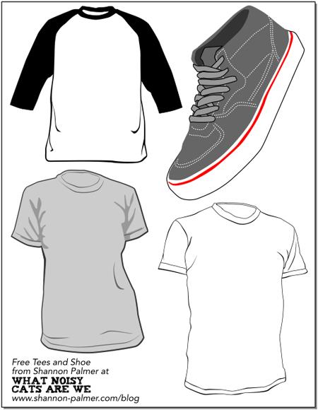 vector_sneaker_tshirts