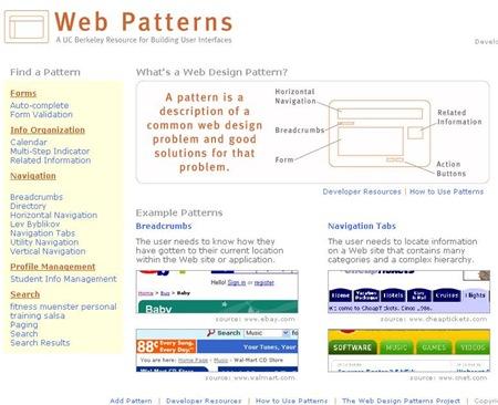 webpatterns