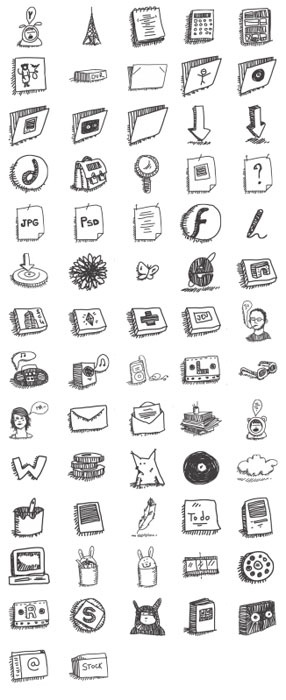 Sketchy_icons_by_mathilde
