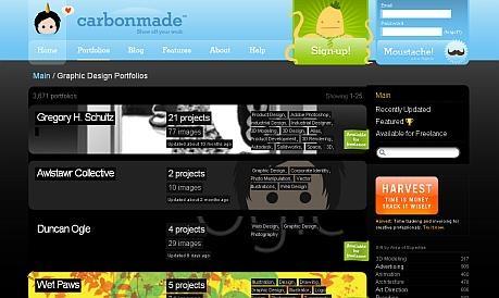 carbonmade_portfolios