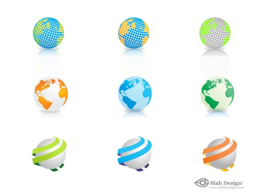freevectorglobes