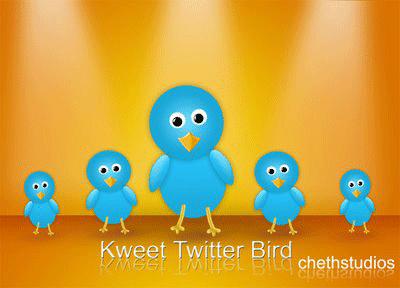 kweet-free-twitter-bird-icon
