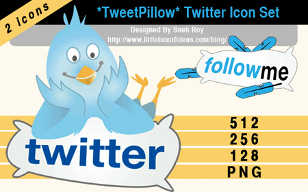 tweet-pillow-a-free-twitter-icon-set