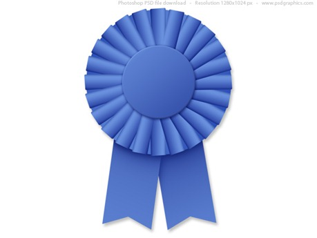 blue-ribbon-rosette