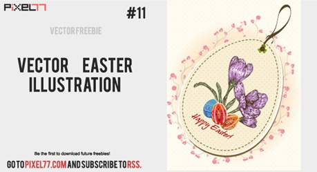 free-vector-easter-illustration